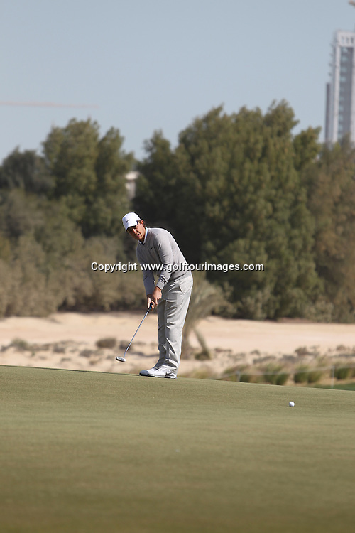 Tommy Fleetwood in action during the second round of the  2012 Commercial Bank Qatar Masters being played over the Championship Course at Doha Golf Club, Doha, Qatar from 2nd to 5th February 2012. Picture Stuart Adams www.golftourimages.com: 4th February 2012