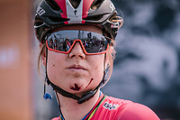 Amelia Dideriksen injured at the finish line of the16th Ronde Van Vlaanderen<br /> <br /> Elite Womans Race (1.WWT)<br /> <br /> One day race from Oudenaarde to Oudenaarde<br /> ©Jojo Harper for Kramon16th Ronde Van Vlaanderen<br /> <br /> Elite Womans Race (1.WWT)<br /> <br /> One day race from Oudenaarde to Oudenaarde<br /> ©Jojo Harper for Kramon
