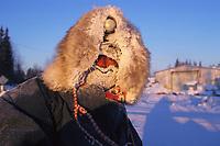 Portrait of C Knott @ 34 Below McGrath 99 Iditarod AK
