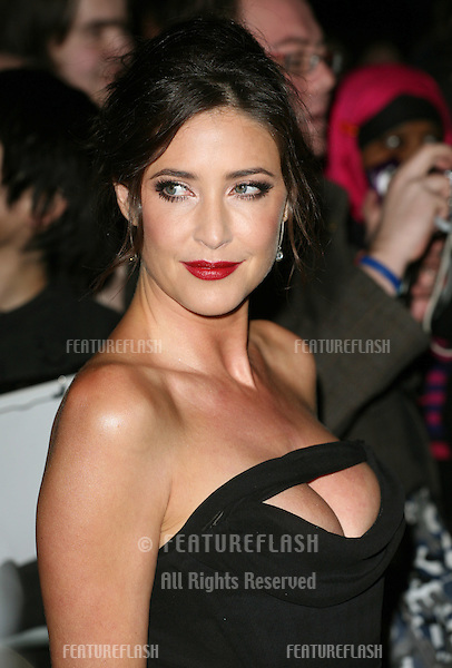 Lisa Snowdon arriving for the Elle Style Awards 2011, at the Connaught Rooms, London. 15/02/2011  Picture by: Alexandra Glen / Featureflash