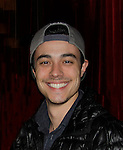 """One Life To Live Robert Gorrie """"Matthew Buchanan"""" came to see Amber Skye perform - sing on April 17, 2014 at Rockwood Music Hall, New York City, New York. (Photo by Sue Coflin/Max Photos)"""