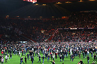 Charlton fans invade the pitch to celebrate their penalty shoot-out victory during Charlton Athletic vs Doncaster Rovers, Sky Bet EFL League 1 Play-Off Football at The Valley on 17th May 2019