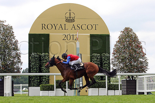 21.06.12 Ascot, Windsor, ENGLAND. Energizer with Adrie de Vries Up Wins The Tercentenary Stakes Cup Ascot Racecourse