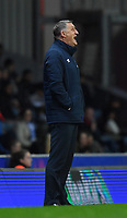Blackburn Rovers' Manager Tony Mowbray Shouts to his team during the game<br /> <br /> Photographer Dave Howarth/CameraSport<br /> <br /> The EFL Sky Bet Championship - Blackburn Rovers v Derby County -Tuesday 9th April 2019 - Ewood Park - Blackburn<br /> <br /> World Copyright &copy; 2019 CameraSport. All rights reserved. 43 Linden Ave. Countesthorpe. Leicester. England. LE8 5PG - Tel: +44 (0) 116 277 4147 - admin@camerasport.com - www.camerasport.com
