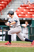 May 28, 2009:  Lehigh Valley IronPigs Third Baseman J.J. Furmaniak at bat during a game vs. the Buffalo Bisons at Coca-Cola Field in Buffalo, NY.  The IronPigs are the International League Triple-A affiliate of the Philadelphia Phillies.  Photo by:  Mike Janes/Four Seam Images