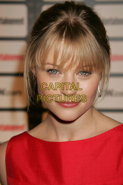 EMILIE DE RAVIN.Entertainment Weekly Magazine Celebrates The 2006 Photo Issue Party held at Quixote Studios, Hollywood, California , USA, 04 October 2006..portrait headshot red fringe.Ref: ADM/RE.www.capitalpictures.com.sales@capitalpictures.com.©Russ Elliot/AdMedia/Capital Pictures.