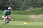 Sean Flanagan (IRL) on the 3rd on the Final Day at the 2012 Boys Home Internationals at Co.Louth Golf Club in Baltray, Co.Louth...(Photo credit should read Jenny Matthews/NEWSFILE)...