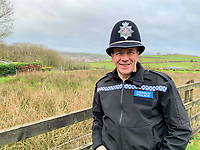 "Pictured: PC Gareth Jones<br /> Re: Dyfed-Powys Police has become the first police force in the UK to use DNA evidence from a stolen cow in a criminal court case.<br /> The force used DNA from a £3,000 heifer, which had been retagged by a neighbouring farmer after escaping from a field, to prove it had been stolen.<br /> The blood samples were compared against cows on the victim's farm to prove a familial link and secure a conviction.<br /> David Aeron Owens, of Salem Road, St Clears, pleaded guilty to theft at Swansea Crown Court on Monday, February 3.<br /> PC Gareth Jones, officer in case, said: ""This has been a long and protracted enquiry, and it has taken a lot of work and patience to get to this point.<br /> ""Without the use of the heifer's DNA we would not have been able to prove that it had been stolen by Mr Owens, and that he had tried to alter identification tags to evade prosecution.<br /> ""We are proud to be the first force in the UK to use a cow's DNA in a criminal case, and will continue to use innovative methods to get justice for victims.""<br /> The investigation started in December 2017, when a farmer in St Clears reported the theft of one of his 300 cows which had escaped from his field four months earlier.<br /> Mr Owens had denied the missing animal was on his land, but the victim recognised it among the herd.<br /> PC Jones visited the farm and was handed a cow passport, listing ear tag numbers for the cow in question and the animal Mr Owens alleged was its mother.<br /> PC Jones applied for a warrant to seize the stolen cow, which was separated from the herd and had blood samples taken for DNA comparison."