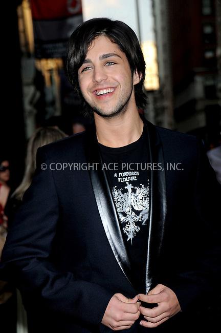 WWW.ACEPIXS.COM . . . . .....June 25, 2008. New York City.....Actor Josh Peck arrive at the 'Wackness' premiere held at at AMC Loews 19th Street on June 25, 2008 in New York City...  ....Please byline: Kristin Callahan - ACEPIXS.COM..... *** ***..Ace Pictures, Inc:  ..Philip Vaughan (646) 769 0430..e-mail: info@acepixs.com..web: http://www.acepixs.com