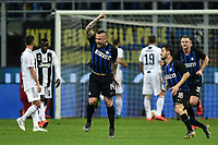 Radja Nainggolan of Internazionale celebrates after scoring goal of 1-0 <br /> Milano 27-04-2019 Stadio Giuseppe Meazza <br /> Football Serie A 2018/2019 FC Internazionale - Juventus FC <br /> photo Image Sport / Insidefoto