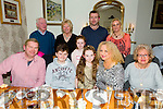 Thomas Laide, Tralee celebrating his 13th birthday with family at Bella Bia's on Friday. Pictured Front l-r Tommy Laide, Thomas Laide, Angelique Laide, Charmaine Laide, Patricia Martin, Back l-r Tom Laide, Margaret Laide, Katelyn Laide, Padraig Laide and Noelle O'Brien