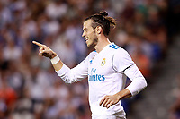 Real Madrid's Gareth Bale celebrates goal during La Liga match. August 20,2017. (ALTERPHOTOS/Acero)<br /> Deportivo La Coruna - Real Madrid <br /> Liga Campionato Spagna 2017/2018<br /> Foto Alterphotos / Insidefoto <br /> ITALY ONLY