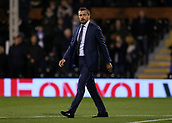 31st October 2017, Craven Cottage, London, England; EFL Championship football, Fulham versus Bristol City; Fulham Manager Slavisa Jokanovic walking towards the dugout from the tunnel before kick off