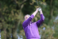Mark Collins (Killeen Castle)  during the final of the Irish Mid-Amateur Open Championship, Royal Belfast Golf CLub, Hollywood, Down, Ireland. 29/09/2019.<br /> Picture Fran Caffrey / Golffile.ie<br /> <br /> All photo usage must carry mandatory copyright credit (© Golffile   Fran Caffrey)