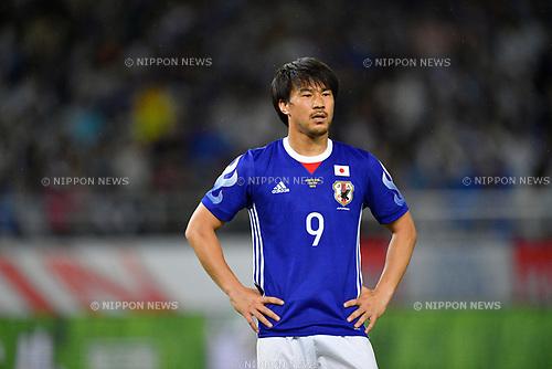 Shinji Okazaki (JPN), <br /> JUNE 7, 2017 - Football / Soccer : <br /> KIRIN Challenge Cup 2017 match <br /> between Japan 1-1 Syria <br /> at Ajinomoto Stadium in Tokyo, Japan. <br /> (Photo by AFLO)