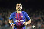 Luis Suarez of FC Barcelona during the La Liga 2017-18 match between FC Barcelona and Deportivo La Coruna at Camp Nou Stadium on 17 December 2017 in Barcelona, Spain. Photo by Vicens Gimenez / Power Sport Images