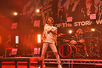 LONDON, ENGLAND - MAY 10: Takahiro Moriuchi and Tomoya Kanki of 'ONE OK ROCK performing at The Roundhouse on May 10, 2019 in London, England.<br /> CAP/MAR<br /> ©MAR/Capital Pictures