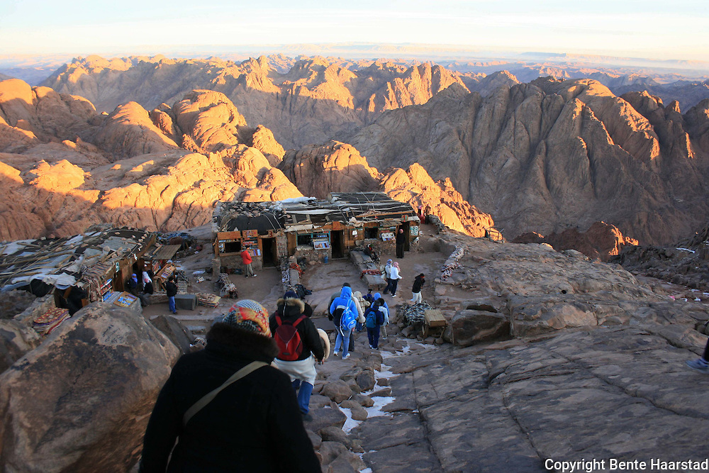 Mount Sinai - The Moses Mountain - Mosesfjellet Mount Sinai