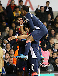 Newcastle's Ayoze Perez celebrates scoring his sides second goal<br /> <br /> Barclays Premier League- Tottenham Hotspur vs Newcastle United - White Hart Lane - England - 13th December 2015 - Picture David Klein/Sportimage