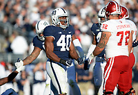 STATE COLLEGE, PA - SEPTEMBER 30:  The Penn State Nittany Lions defeated the Indiana Hoosiers 45-14 on September 2, 2017 at Beaver Stadium in State College, PA. (Photo by Randy Litzinger/Icon Sportswire)