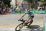 Bora-Hansgrohe led by Italian Champion Davide Formolo recon Stage 1 of La Vuelta 2019, a team time trial running 13.4km from Salinas de Torrevieja to Torrevieja, Spain. 24th August 2019.<br /> Picture: Eoin Clarke | Cyclefile<br /> <br /> All photos usage must carry mandatory copyright credit (© Cyclefile | Eoin Clarke)