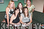 QUIZ: At the Table Quiz at the Kingdom Bar in Listowel on Friday night were from left, Joyce Henry, Niamh OConnell, Claire Sweeney, Aoife Tarrant and Paula Henry (all from Listowel)..