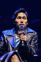 """NEW YORK - OCTOBER 5: Jin Ha attends the panel for FX's """"DEVS"""" during the 2019 NY Comic-Con at Hammerstein Ballroom on October 5, 2019 in New York City. (Photo by Anthony Behar/FX/PictureGroup)"""