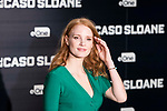 """American actress Jessica Chastain attends to the presetantion of the film """"El caso Sloane"""" in Madrid, May 03, 2017. Spain.<br /> (ALTERPHOTOS/BorjaB.Hojas)"""