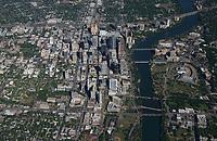 Austin skyline aerials 2017