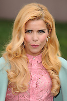 Paloma Faith arrives for the Burberry Prosum menswear AW14 as part of London Collections Men, Kensington Gardens, London.08/01/2014 Picture by: Steve Vas / Featureflash