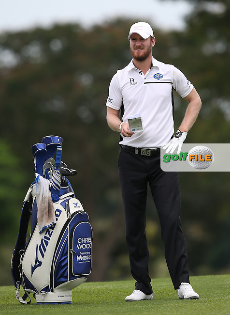 Chris Wood (ENG) shoots a flawless 68 during Round One of the The Championship 2014 from the Laguna National Golf & Country Club, Tampines, Singapore. Picture:  David Lloyd / www.golffile.ie