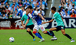 Mauro Fomica of Blackburn Rovers in action during the Asia Trophy pre-season friendly match against Kitchee FC at the Hong Kong Stadium on July 30, 2011 in So Kon Po, Hong Kong. Photo by Victor Fraile / The Power of Sport Images