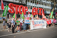 2016/09/14 Berlin | Politik | Protest gegen CETA & TTIP