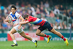 Russia vs South Korea during their HSBC Sevens Wold Series Qualifier match as part of the Cathay Pacific / HSBC Hong Kong Sevens at the Hong Kong Stadium on 27 March 2015 in Hong Kong, China. Photo by Xaume Olleros / Power Sport Images