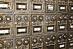 Old PO Boxes at Camp Verde Texas General Store