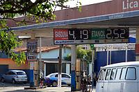 CAMPINAS, SP 05.07.2018-FISCALIZACAO-Fiscalizacao em postos de combustiveis na cidade de Campinas (SP), foram lacrados nesta quinta-feira (05). Na foto Auto Posto Lica Ltda, na av Governador Pedro de Toledo. (Foto: Denny Cesare/Codigo19)