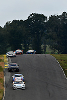 IMSA Continental Tire SportsCar Challenge<br /> Biscuitville Grand Prix<br /> Virginia International Raceway, Alton, VA USA<br /> Saturday 26 August 2017<br /> 4, Porsche, Porsche Cayman GT4, GS, Guy Cosmo, Hugh Plumb<br /> World Copyright: Scott R LePage<br /> LAT Images