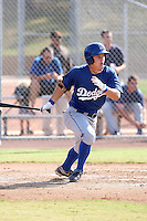 Joc Pederson - Los Angeles Dodgers - 2010 Instructional League.Photo by:  Bill Mitchell/Four Seam Images..