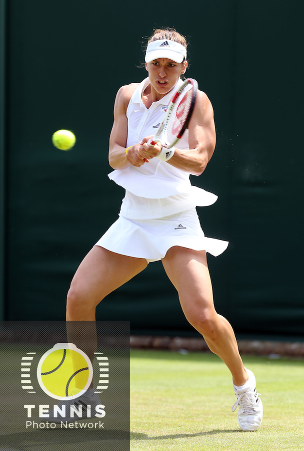 ANDREA PETKOVIC (GER)<br /> <br /> The Championships Wimbledon 2014 - The All England Lawn Tennis Club -  London - UK -  ATP - ITF - WTA-2014  - Grand Slam - Great Britain -  24th. June 2014. <br /> <br /> &copy; J.Hasenkopf / Tennis Photo Network