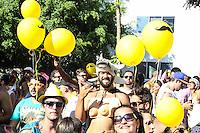 SÃO PAULO,SP, 31.01.2016 - CARNAVAL-SP - Foliões se divertem no bloco Chá da Alice no bairro de Pinheiros região oeste de São Paulo, neste domingo, 31. (Foto: Marcos Moraes/Brazil Photo Press/Folhapress)