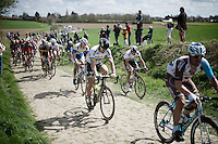 World Champion Peter Sagan (SVK/Tinkoff) in sector 21: Qu&eacute;r&eacute;naing to Maing (2.5km)<br /> <br /> 114th Paris-Roubaix 2016(