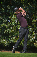Chris Paisley (ENG) watches his tee shot on 2 during round 3 of the World Golf Championships, Mexico, Club De Golf Chapultepec, Mexico City, Mexico. 3/3/2018.<br /> Picture: Golffile | Ken Murray<br /> <br /> <br /> All photo usage must carry mandatory copyright credit (&copy; Golffile | Ken Murray)
