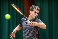 Wateringen, The Netherlands, December 4,  2019, De Rhijenhof , NOJK 14 and18 years, Bart Nouws (NED)<br /> Photo: www.tennisimages.com/Henk Koster