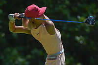 Michelle Wie (USA) watches her tee shot on 3 during round 4 of the U.S. Women's Open Championship, Shoal Creek Country Club, at Birmingham, Alabama, USA. 6/3/2018.<br /> Picture: Golffile | Ken Murray<br /> <br /> All photo usage must carry mandatory copyright credit (&copy; Golffile | Ken Murray)