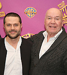 Joshua Bergasse and Jack O'Brien attend the ''Charlie and the Chocolate Factory' Cast Photo Call at the New 42nd Street Studios on February 21, 2017 in New York City.