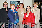 Pictured at the Bons Foundation Dinner on Thursday last in Ballyroe Heights Hotel were l-r:  Anna Hickson (Leith Tralee) Nora Casey (Scartaglin) Mary Cahill (Limerick) Margaret Naughton (Killorglin) and Kathy Stack (Abbeydorney)..