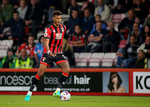 20.09.2016. Vitality Stadium, Bournemouth, England. Football League Cup Football. Bournemouth versus Preston. Bournemouth Defender Tyrone Mings asks his forwards for movement during a Bournemouth attack