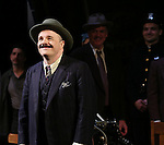 """Nathan Lane during the Broadway Opening Night performance curtain call bows for """"The Front Page""""  at the Broadhurst Theatre on October 20, 2016 in New York City."""