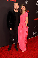"LOS ANGELES - NOV 4:  Aaron Paul, Emily Ratajkowski at the ""Welcome Home"" L.A. Premiere at the The London West Hollywood on November 4, 2018 in West Hollywood, CA"