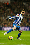 Deportivo de la Coruna's Isaac Cuenca during 2014-15 La Liga match between Real Madrid and Deportivo de la Coruna at Santiago Bernabeu stadium in Madrid, Spain. February 14, 2015. (ALTERPHOTOS/Luis Fernandez)